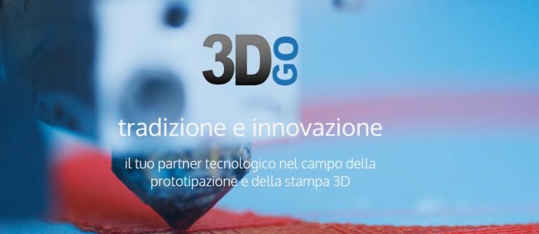 Il Sito di 3DGO è Online